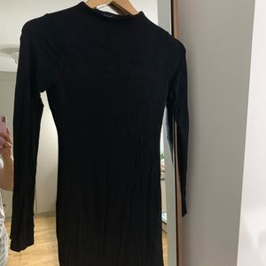 Naked wardrobe black mini dress M